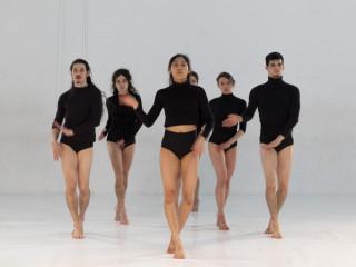 Die Bodhi Project dance company probt in der SZENE