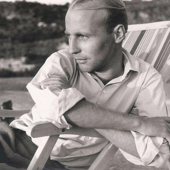 Hans Werner Henze auf Ischia 1954